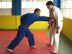Fist twist example on back 6